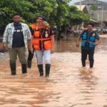 Entregan alimentos a personas afectadas por desborde en Ucayali