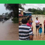 Entregan víveres a familias afectadas por lluvias en Ucayali