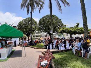 """Más de mil personas asistieron en la feria """"De Tocache sus productos"""""""