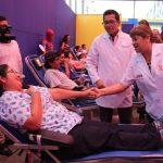 Ministra de Salud exhorta a donar sangre para salvar la vida de niños con cáncer