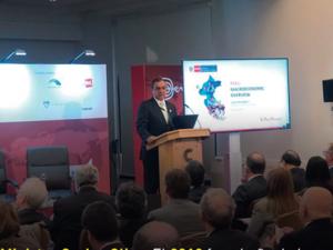 Ministro Carlos Oliva: 2018 fue el año de la recuperación de la inversión y consolidación fiscal