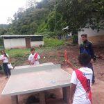 Niños del Vraem viajarán a Brasil para potenciar sus habilidades en tenis de mesa