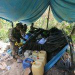 PNP destruye 10 pozas de elaboración de droga en el Vraem