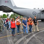 Premier Villanueva y Gobernador entregaron ayuda humanitaria en San Martín