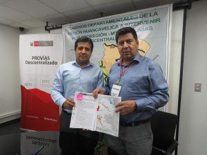 Provias Descentralizado firmó convenios con el Gobierno Regional de Huancavelica