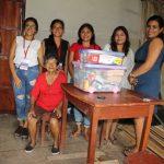 Pucallpa: Estudiantes cambian la vida a 21 adultos mayores en pobreza extrema