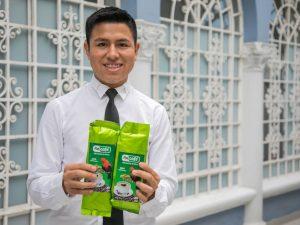 Talento de Beca 18 exporta café premium del Vraem a Italia y Australia
