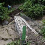 Vraem: 50 familias aisladas tras caída de puente