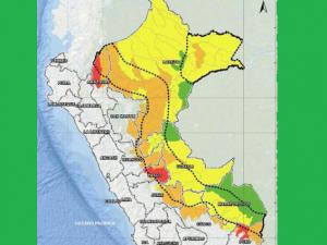 52 distritos de la selva norte, centro y sur en alto riesgo de afectación ante lluvias