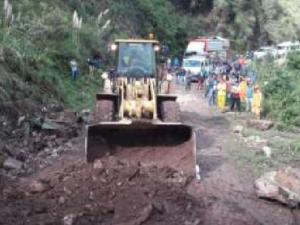 Amazonas: Habilitan carretera Chachapoyas – Rodríguez de Mendoza