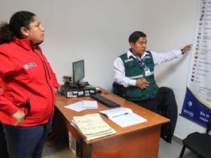 Arequipa: ministra Muñoz visita puestos de control del Senasa y Serfor