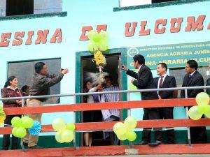 DRA Junín abre segunda oficina agraria
