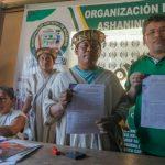Devida firmó convenio con organizaciones asháninkas