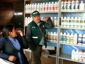 Fiscalizan establecimientos comerciales en zonas productoras de Ayacucho
