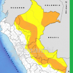 Hasta el miércoles 27 se esperan lluvias de moderada a fuerte intensidad en la selva