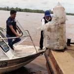 Loreto: Llevan ayuda a centro poblado Miraflores, afectado por derrame de petróleo
