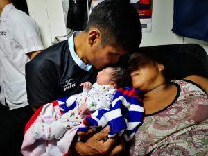 Loreto: Segundo bebé nació a bordo del BAP Pastaza en el distrito de Nauta