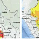 Más de 200 distritos de la sierra y selva con riesgo muy alto de huaicos