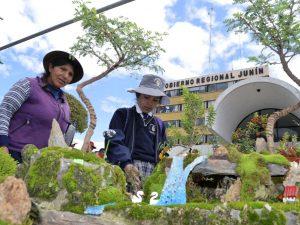 Más de 50 productores exponen en feria de plantas en Junín