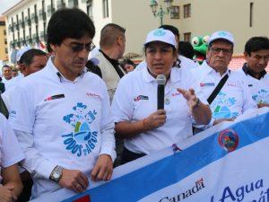 Ministra Muñoz anuncia reunión con gobernadores del sur para tratar problemática del agua