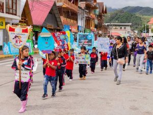 Organizan festival del agua en Oxapampa
