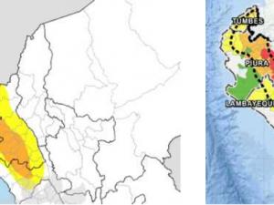 Prevén intensas lluvias desde el sábado 16 de marzo en la costa y sierra norte