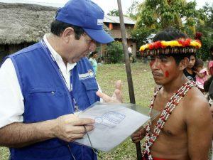 Reniec acerca sus servicios a población indígena
