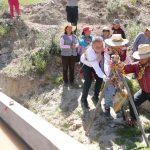 Arequipa: Inauguraron obras de mejoramiento de canales de riego en Lluta