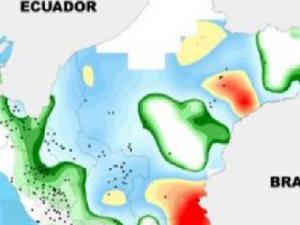 Distrito con mayores precipitaciones se ubicó en Loreto