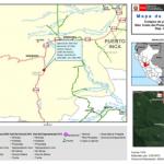 Huánuco: Habilitan ruta alterna tras colapso de plataforma en Codo del Pozuzo