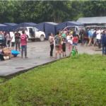 Instalan albergue temporal para atender a damnificados por huaico en Huánuco