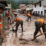 Junín: Ejército apoya en limpieza de vías en distrito de Pichanaqui