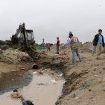 OEFA retira tuberías clandestinas que vertían efluentes industriales a la bahía del Callao
