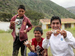 Talento de Beca 18 combatirá la anemia en Uchuraccay con galletas Nutri Hierro
