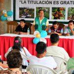 Promueven titulación gratuita de tierras en San Martín
