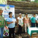 Ucayali: Transfieren maderas a escuela para construcción de aulas