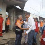 Presidente Vizcarra evalúa efectos del sismo en visita a Yurimaguas