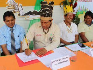 Alianza entre Estado y comunidades nativas fortalece articulación territorial de la RC Amarakaeri