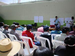 Capacitan a mineros artesanales en proceso de formalización en Majes