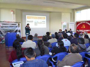Junín: Comuneros jaujinos asistieron a encuentro agrícola