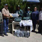 Comunidad campesina en Junín recibe equipamiento para manejos de vicuñas
