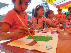Comunidad nativa Awajún de Shampuyacu celebra su 46 aniversario educando en conservación
