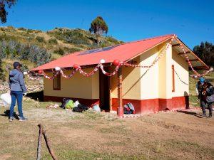 Cusco: 199 familias beneficiadas con viviendas bioclimáticas ante las heladas