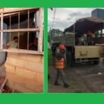 Damnificados por el sismo del domingo se beneficiarán con viviendas de emergencia