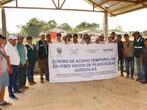 Desarrollan primera campaña de entrega y recepción de envases de plaguicidas en Ucayali
