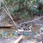 Destruyen tres campamentos de minería ilegal en Madre de Dios
