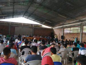 Devida se reunió con agricultores para coordinar actividades en Campanilla
