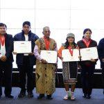 Distinguen a sabios indígenas y a instituciones promotoras de la diversidad cultural y lingüística del país