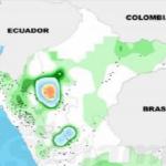 Dos distritos de la región San Martín tuvieron mayores acumulados de lluvia