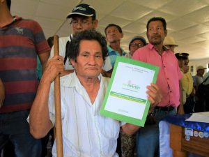 Fortalecen proceso de titulación de predios rurales en la región San Martín
